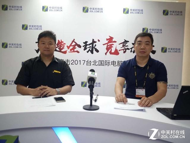 Computex2017:专访美商海盗船马战超