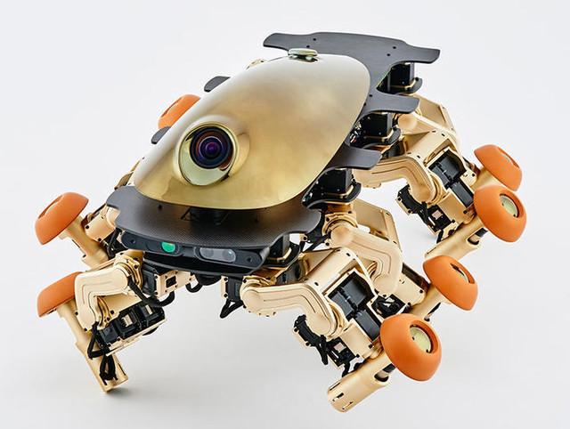 未来汽车什么样 请看八腿变形机器人
