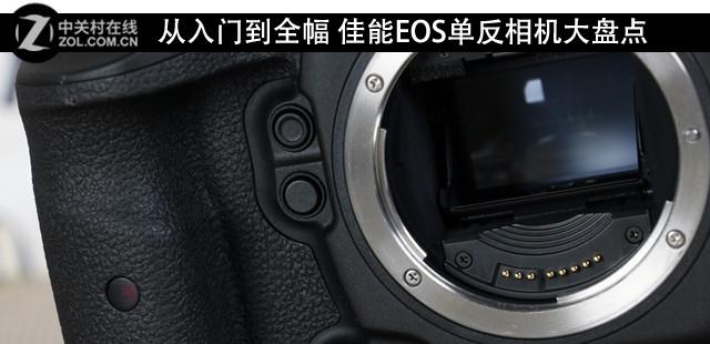 从入门到全幅 佳能EOS单反相机大盘点