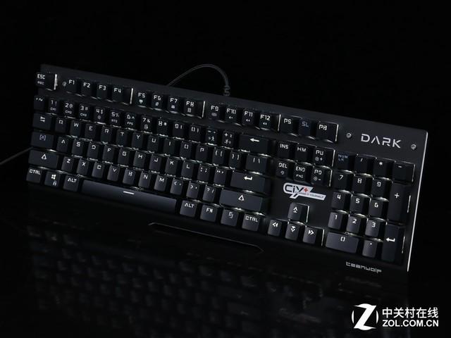 深邃之黑 狼派DARK CIY机械键盘评测