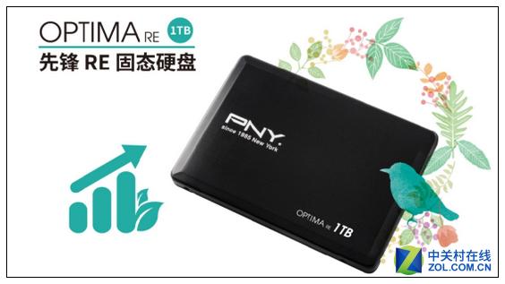 1TB的存�π�能 PNY先�h大容量SSD上市