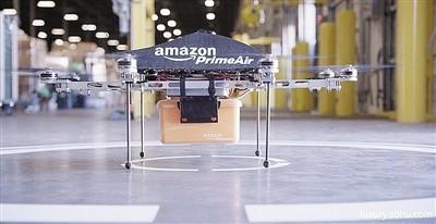 亚马逊用无人机为抛锚电动车充电遭质疑