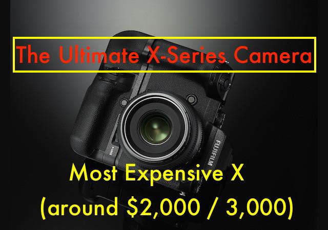 富士终极APS-C相机售价2000-3000美元