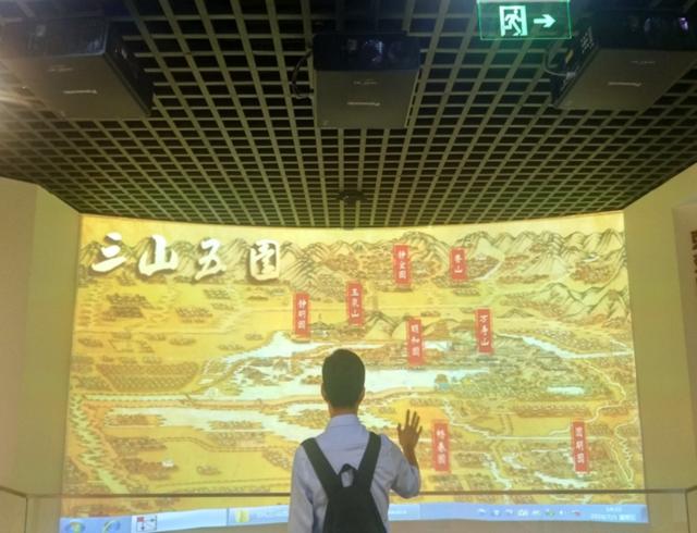 19台松下单芯片DLP工程投影机助力海淀通史陈列馆