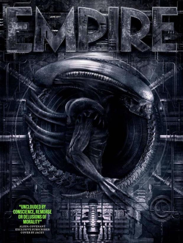 《异形:契约》登《帝国》杂志封面