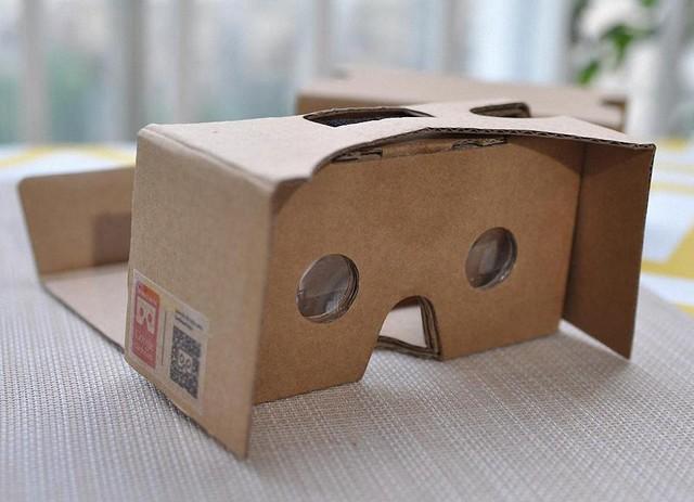 谷歌发布WebVR Experiments纸盒VR支持