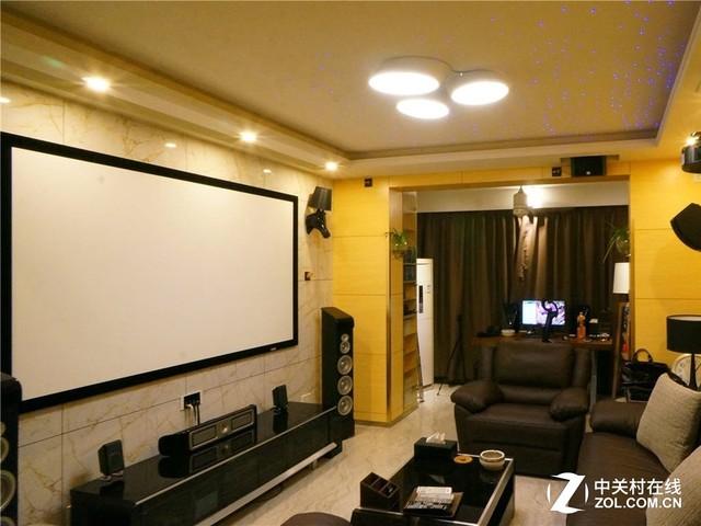 未來客廳什么樣 家用投影組裝家庭影院
