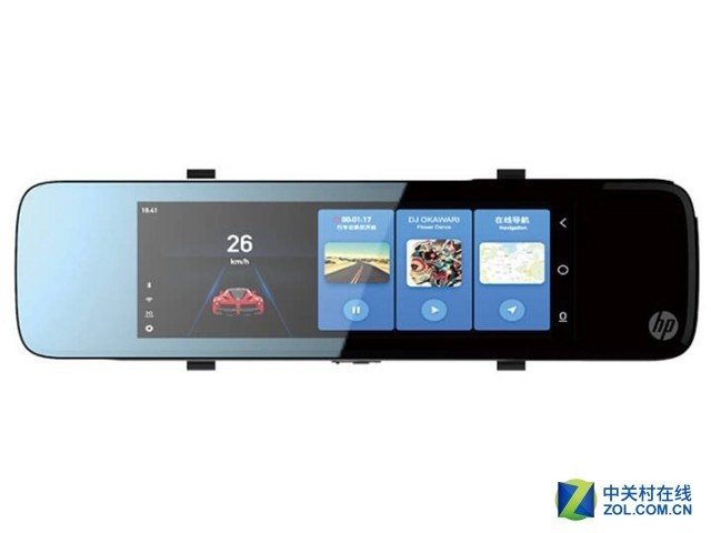 语音声控 惠普S760智能后视镜促销仅699