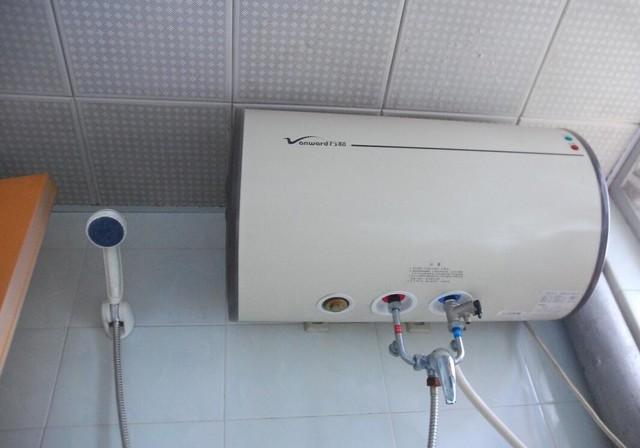 电热水器实际安装图-燃气 电热水器原理详解 家电