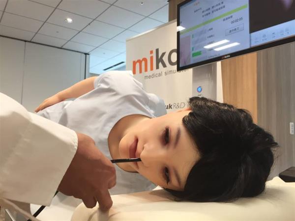 日本开发3D打印医疗训练机器人Mikoto