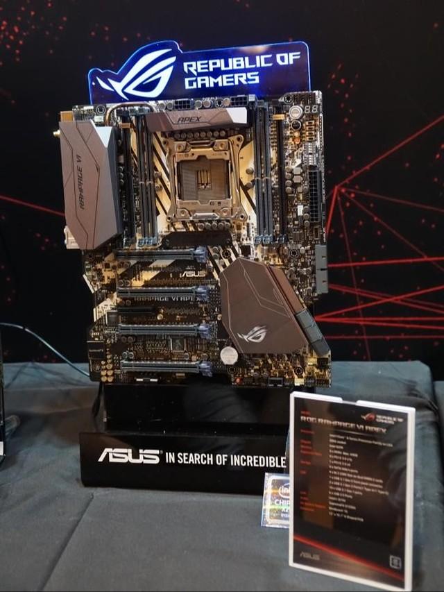 华硕发布7款X299系列主板
