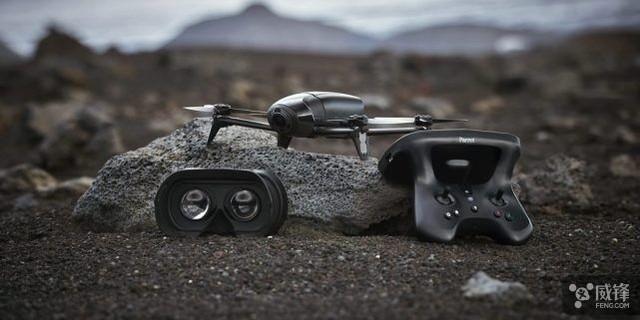 Parrot发布新款无人机 支持2km远程控制