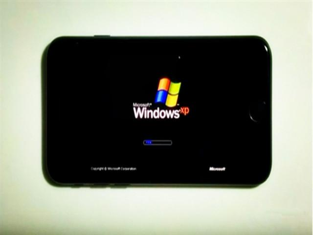 流畅吗?iPhone7上运行微软Windows XP
