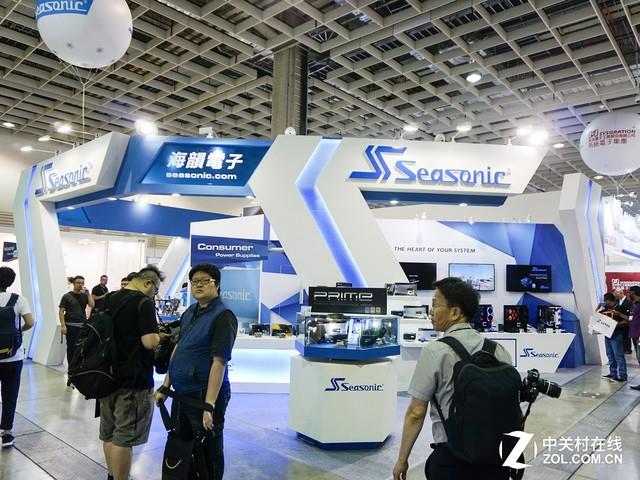 本土作战 海韵电源强势参加台北电脑展