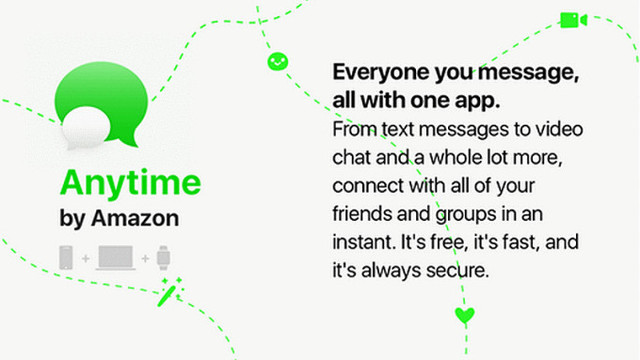 可能抄的微信 亚马逊也要发社交APP了