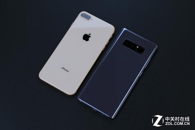 iPhone8P与三星Note8这十项正面刚