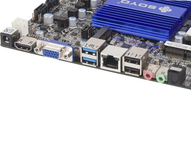 ITX工控整合主板 THIN MINI N3150售529