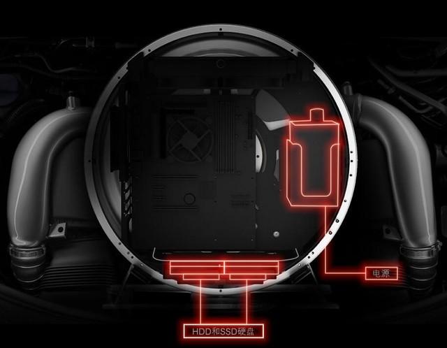 炫酷外观主机 GAMEMAX风火轮MOD机箱