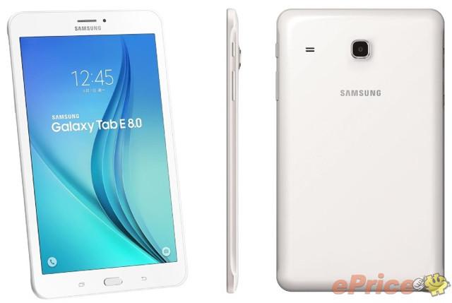 三星推Galaxy Tab E 8.0平板 支持4G