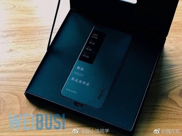 魅族PRO 7实体邀请函曝光 7月26日发布
