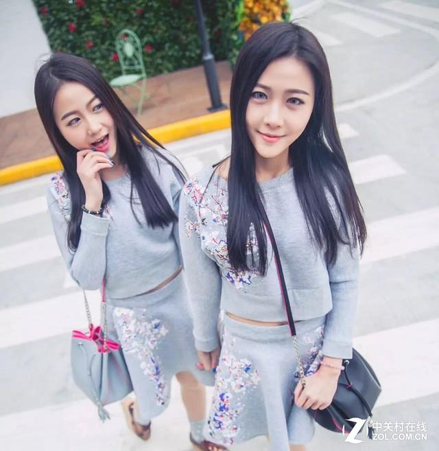 双胞胎姐妹花陪你 嗨翻台电天猫粉丝节