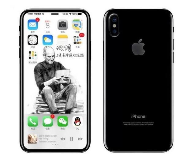 全新iPhone 8电脑绘图 前置镜头的进化?