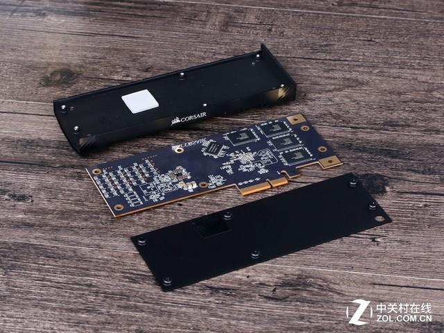 海盗船NX500 400GB SSD新品首发评测