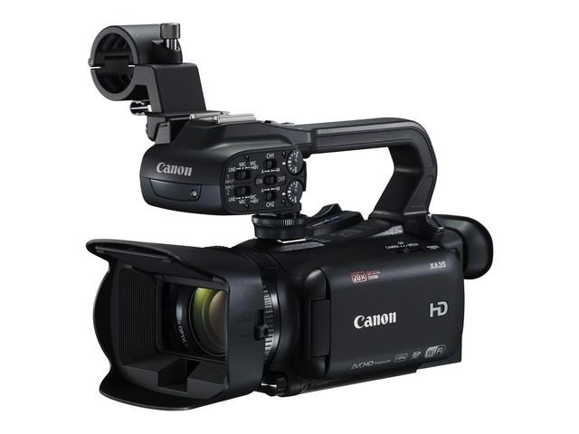 佳能发布专业全高清摄像机XA35/XA30