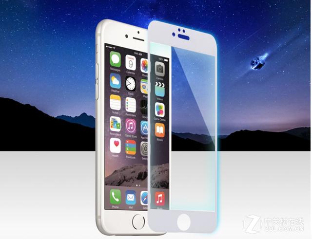 薄透自吸附全覆盖 摩米士iPhone6钢化膜
