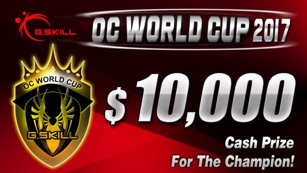芝奇2017第四届世界杯超频大赛正式开跑