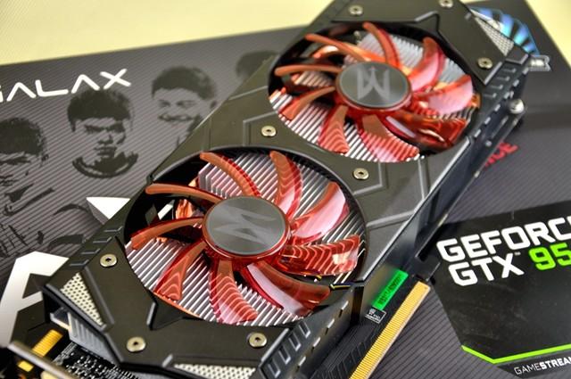 网游加速器 影驰GTX950 GAMER售1149元