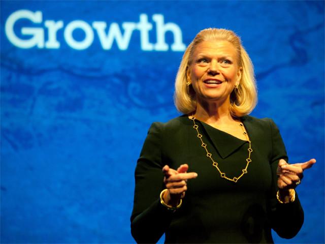 云转型现成效 IBM过去一年股价涨21%
