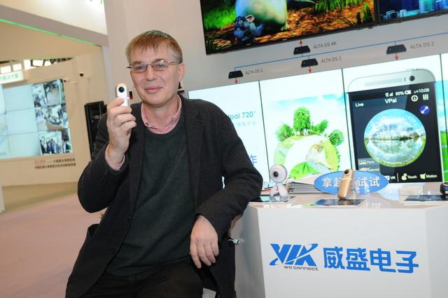 威盛全景摄影摄像平台玩转中国市场