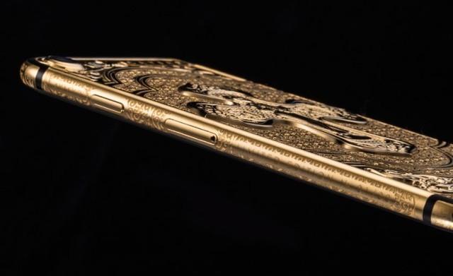 土豪新玩具 镀金版iPhone 7你猜卖几万?