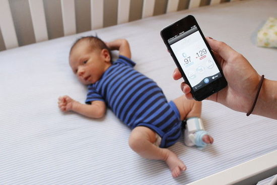 可穿戴婴儿生理监测设备弊大于利