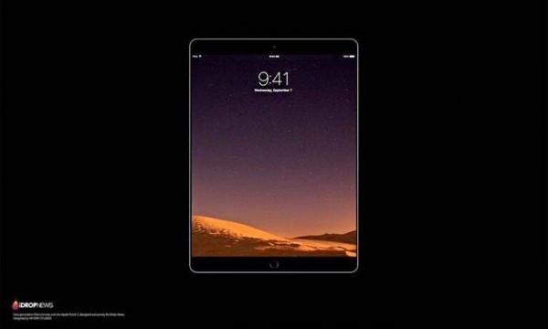 10.5英寸iPad Pro渲染图