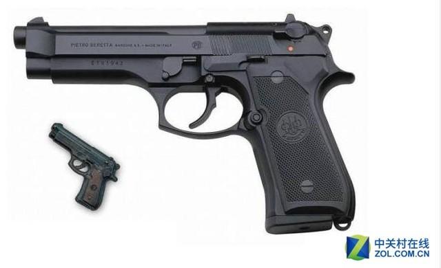 《绝地求生》中手枪武器原型揭秘!