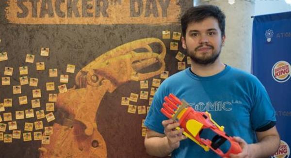 汉堡王捐活动一半收入助3D打印假肢慈善