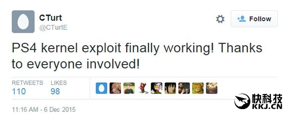 索尼PS4核心漏洞泄露 自制系统明年发?