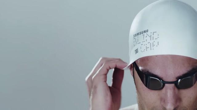 方便在哪里?三星推出盲人专用游泳帽