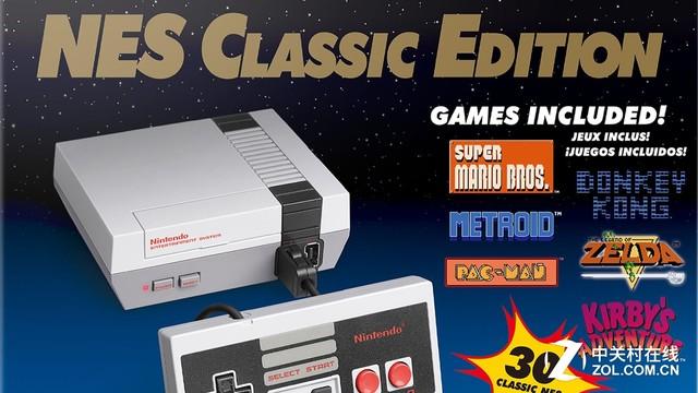 准黑马? 任天堂迷你NES销量突破26万