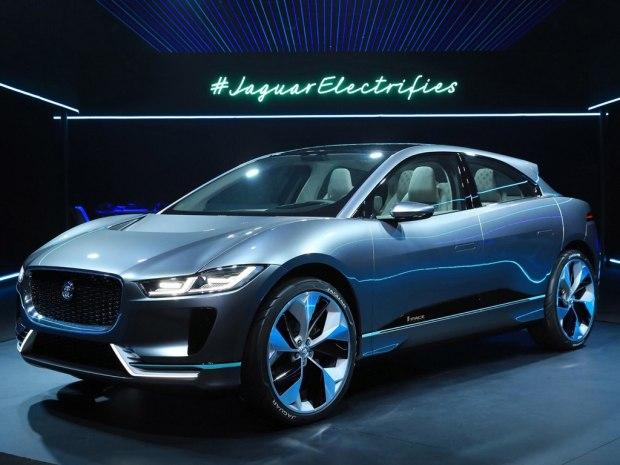 捷豹纯电动SUV I-PACE-捷豹I PACE纯电动概念车发布 18年上市
