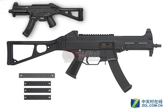 《绝地求生》中4款冲锋枪原型揭秘!