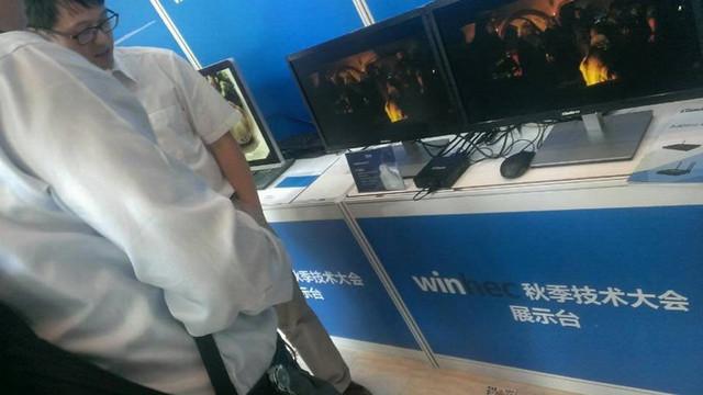 杰拓F210虚拟化解决方案 闪耀WinHEC现场