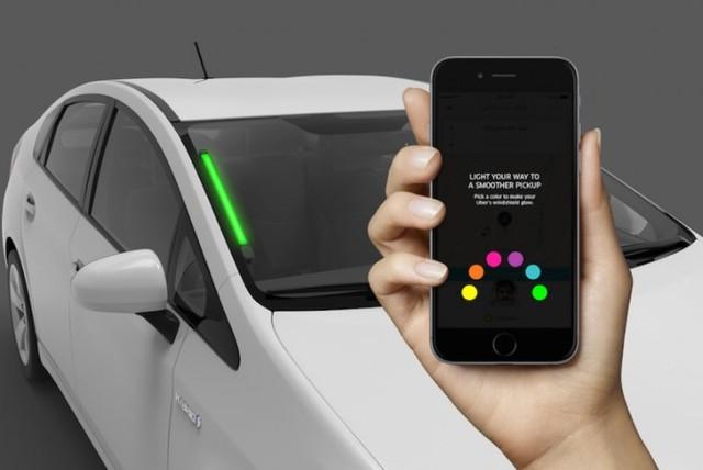 Uber新玩法:乘客和司机用LED灯对暗号