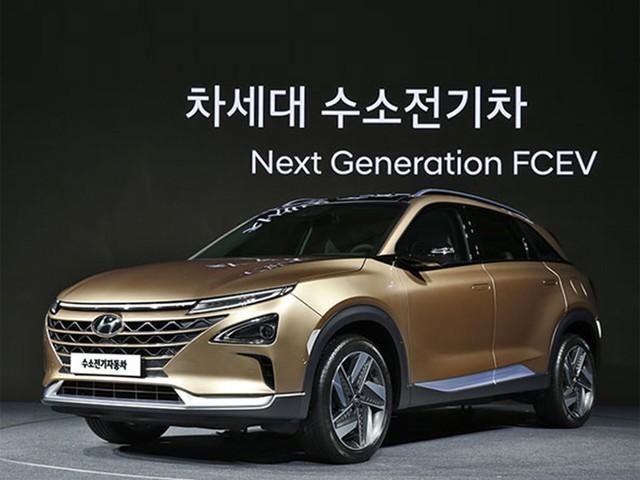 现代汽车下一代燃料电池SUV 续航优势
