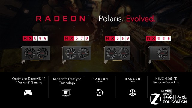 引人注目的升级 Radeon RX 500系列发布