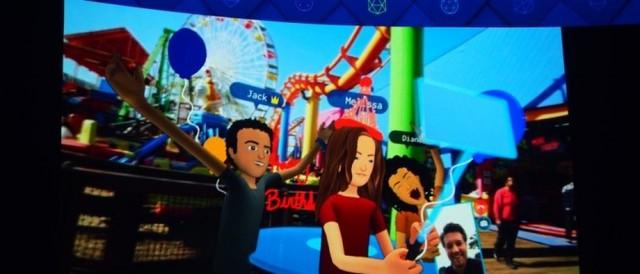 Facebook推出VR社交平台 能跨越次元了