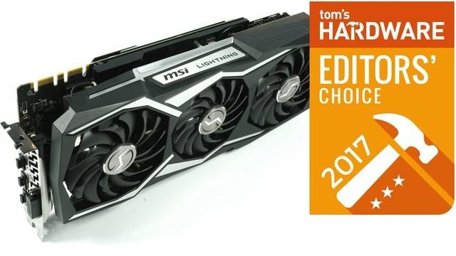 微星1080Ti闪电获Tom's Hardware编辑选择奖