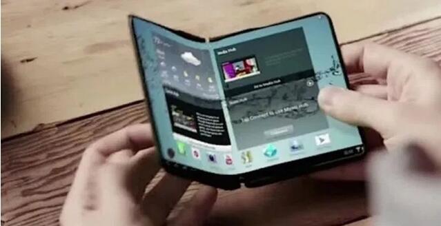 研发出可对折手机必要新物料